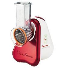 Moulinex Fresh Express Metallo Rosso, Bianco grattugia elettrica 150W, 5 funzion
