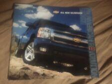 2007 Chevy Chevrolet Silverado Classic Pickups SUV Brochure Prospekt