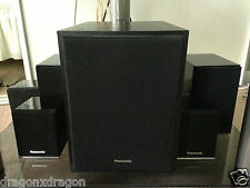 Panasonic 5.1 Dolby Digital altoparlanti, sb-w300, sb-dt100, sb-afc301, GARANZIA