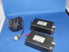 Math Associates FiberVision Video Transmitter FX-1500A-1 (Qt:2) w/ AC Adapter