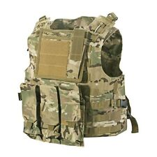 Army Combat Paintball  MOLLE Military Vest Adjustable Light Camouflage Nylon