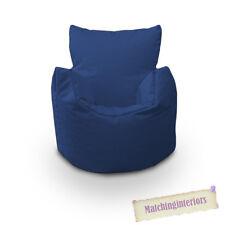 Bleu Grain Chaise Enfants Résistant Aux Éclaboussures Intérieur Extérieur Pouf