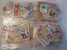 WORLD WIDE STAMP LOT COLLECTION - LOOSE, ON PAPER - UNSEARCHED - #3 - BN-5