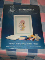 Precious Moments Needlecraft Kit Trust in the Lord to the Finish Fits 9 x 12 Fra