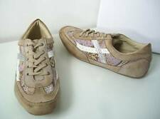 Tozzi verano marca de zapatillas coñac Camel beige lila Antik 36 Trainers sneakers Brown
