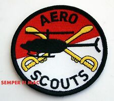 AERO SCOUTS HAT FLIGHTSUIT PATCH US ARMY VETERAN GIFT AIR CAV CAVALRY FORT L@@K!