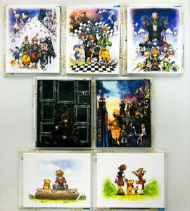 KINGDOM HEARTS  ICHIBAN KUJI Mini Canvas Art Collection / Sora Micky Riku Roxas