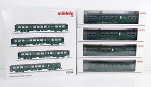 Märklin 43546 Personenwagenset Personenwagen Typ M2 SNCB für 39480 Rh1 bs1906