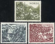 Norway 1977 Spruce/Birch/Pine/Fir/Conifers/Trees/Plants/Nature 3v set (n44870)