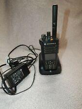 Motorola MOTOTRBO XPR7550 UHF with charging base
