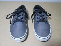 VANS - Grey Canvas Classic Skate Shoes - Size 5.5