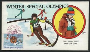 #2142, Winter Special Olympics, Collins FDC