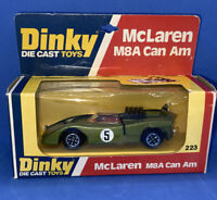 Dinky 223 McLaren M8A Can Am, Mint Boxed Condition  (Locply13)