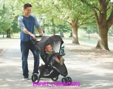 Brand New $199 Graco Pace Travel System - Birch (Rated For 0-24 M) Black / Multi