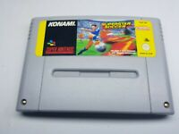SNES Super Nintendo Pal Game Cartridge INTERNATIONAL SUPERSTAR SOCCER Tested UK