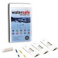 Watersafe Well Water Test Kit Bacteria Lead Pesticide Nitrate Chlorine PH More!