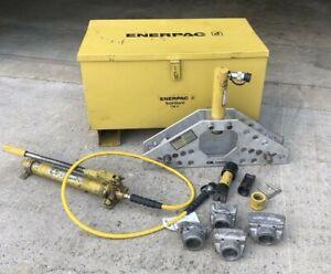 "ENERPAC STB 101H Pipe Bender (1""-2"") with Tool Gard CM-4 storage box"
