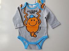 'MR TICKLE' MR MEN BABY BOY ROMPER BODYSUIT SIZE 00 FITS 3-6M *GIFT *NEW