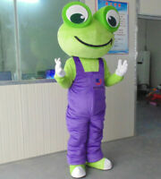 Halloween Frogs Mascot Costume Suits Cosplay Party Dress Clothing Carnival Adult