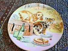 Royal Worcester The Hamilton Collection-Mixed Company Pam Cooper Picnic Prowlers