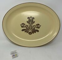 "Pfaltzgraff ""Village"" USA 13"" Oval Serving Platter - Nice, Hard to Find!"