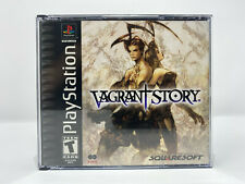 Vagrant Story (Sony PlayStation 1 PS1) *DISCS IN CASE - NO MANUAL - TESTED*