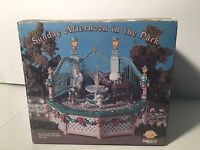 NEW ENESCO Victorian Era Sunday Afternoon In The Park Multi-Action/Lites Musical