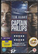 CAPTAIN PHILLIPS GENUINE R2 DVD TOM HANKS MAX MARTINI NEW/SEALED