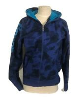 BENCH Woman Hoodie Black And Blue Size M WorkOut CrossFit Casual