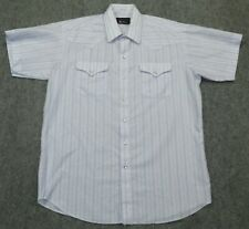 vintage Panhandle Slim Western Pearl Snap S/S Shirt Made Usa sz Xl (17) Shirt