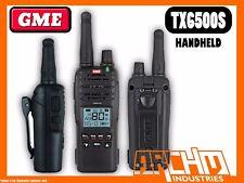 GME TX6500S HANDHELD UHF CB IP67 RADIO - 80CH 5 WATT AUSTRALIAN MADE