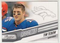 TIM TEBOW 2010 Panini Prestige #296A Denver Broncos Rookie RC Mint