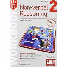 11+ Non-Verbal Reasoning Year 5-7 Workbook 2: Including Multiple Choice Test...