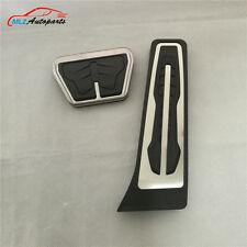 Gas Fuel Brake Pedal Cover AT 2P For BMW 1 2 3 4 5 6 7 Series GT & X3 X4 X5 X6 M