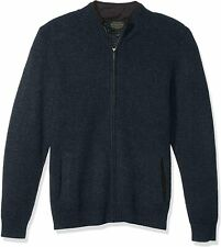 New Mens Pendleton Full Zip Shetland Washable Wool Cardigan Size L MSRP $139