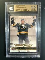2014-15 Upper Deck Sam Reinhart Young Guns Canvas Rookie BGS 9.5