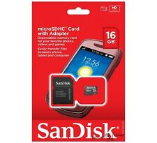 SANDISK 16GB MicroSD MicroSDHC SDHC TF Flash Memory Card 16 GB  Wholesale Lot 50