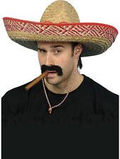 mexicano Sombrero Sombrero de paja NUEVO - CARNAVAL SOMBRERO GORRO SOMBRERO