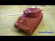 28mm USA Sherman M4A3E2 Jumbo, In Resin By Blitzkrieg WWII Bolt Action,