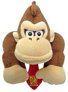"Little Buddy Super Mario Bros. Donkey Kong 10"" Plush [New ] Plush"