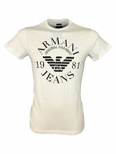 Short Sleeve Basic ARMANI Singlepack T-Shirts for Men