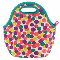 Built NY Gourmet Getaway Durable Insulated Neoprene Lunch Tote Dot Candy Fuchsia