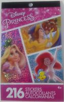Disney Princess 216 Stickers (Cover may vary)