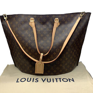 Louis Vuitton All In Bandouliere GM Monogram LARGE Canvas w/Box & Pouch #NG41
