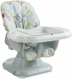 Fisher-Price DRF75 SpaceSaver High Chair, Geo Meadow