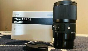 Sigma Art 70mm f2.8 DG Macro for Sony E-mount as NEW