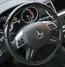 Mercedes-Benz OEM W166 G ML W463 Leather & Piano Black Designo Steering Wheel
