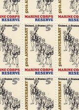 Marine Corps Reserve Stamp Sheet, Scott #1315, MNH
