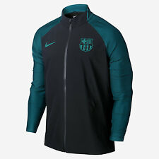 Nike 16/17 FC Barcelona Strike Men's Soccer Jacket 829143 014 Black Size M NWT