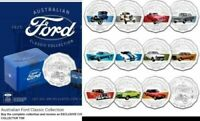 2017 Ford Tin Classic Collection 12 x 50c coin set limited edition